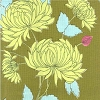 Amy Butler Chrysanthemum Olive