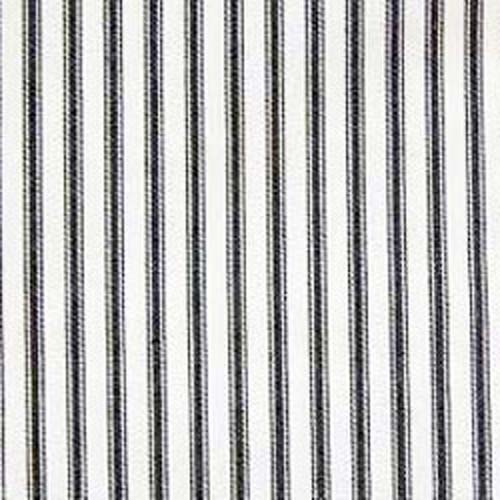 Waverly Classic Ticking Stripe Black White Home Decorating