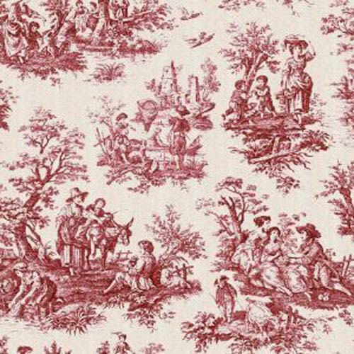 Image Result For Black And White Toile Material
