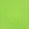 Tiny Dots Chartreuse White