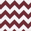 Crimson Chevron Stripe
