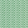 Kelly Green Chevron Stripe