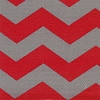 Red Gray Chevron