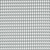 Houndstooth Storm Gray Twill
