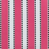 Lulu Stripe Candy Pink Black