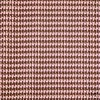 Houndstooth Brown Pink