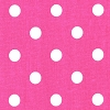 Premier Prints Polka Dot Candy Pink White