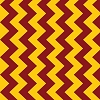 Chevron Maroon Gold M