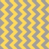 Chevron Yellow Gray M