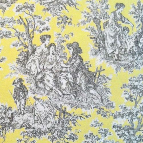 Waverly Rustic Life Lemondrop Toile Home Decorating Fabric ...