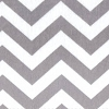 Cuddle Minky Chevron Silver