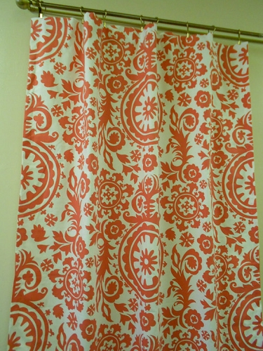 Premier Prints Suzani Coral Home Decorating Fabric