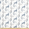 Bird Toile Regal Blue