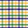Mardi Gras Purple Green Gold Plaid BOLT