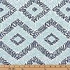 Premier Prints Sea Diamond Vintage Indigo Canal