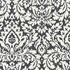 Waverly Dashing Damask Noir