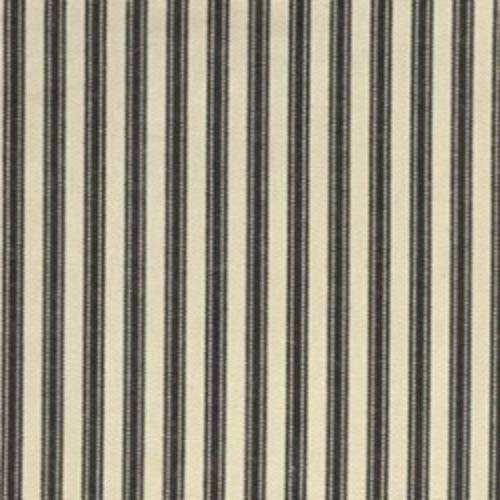 Waverly timeless ticking black home decorating fabric for Ticking fabric