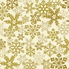 Tis The Season Snowflake Gold