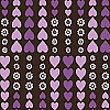 Contemporary Charm Purple Heart