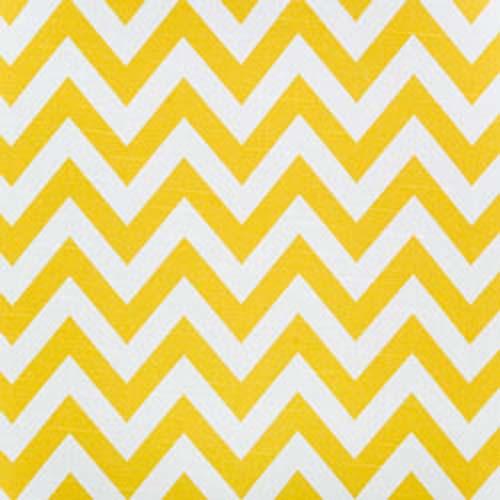 Zig Zag Corn Yellow Slub by Premier Prints Fabrics