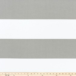 Cabana Stripe Gray Outdoor