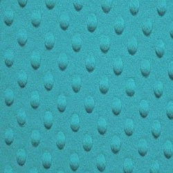 "18"" By 58"" Minky Dot Turquoise - FREE SHIPPING"