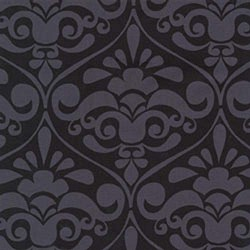 "30"" By 44"" Michael Miller Divine Damask Gray - FREE SHIPPING"