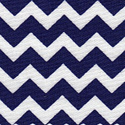 Royal Chevron Stripe