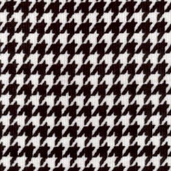 Black White Houndstooth Corduroy