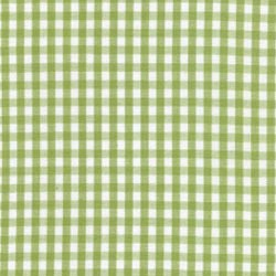 Fabric Finders Sprout Green White Gingham