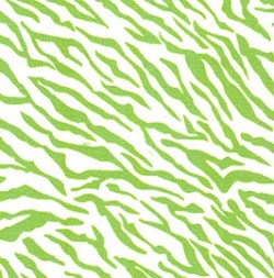 Lime Green White Tiger
