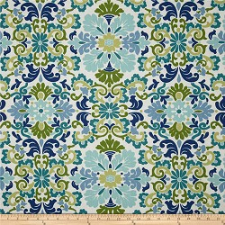 Folk Damask Seaspray