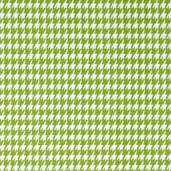 Houndstooth Chartreuse White
