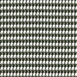 Houndstooth Black White