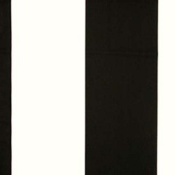 Kaitlin Wide Stripe Black White
