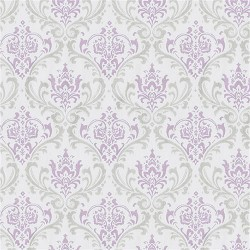 Madison Lavender Gray Damask Home Decorating Fabric