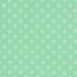 Robert Kaufman Spot On Pearl Mint