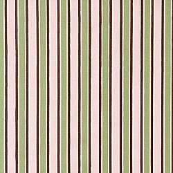 Robert Kaufman Pink Green Brown Stripe