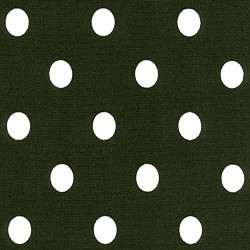 Polka Dot Black White