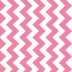 Chevron Hot Pink M