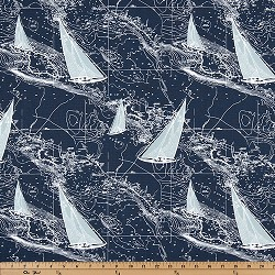 Sail Away Vintage Indigo