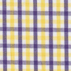 Fabric Finders Purple Gold Plaid