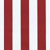 Canopy Stripe Cherry Outdoor