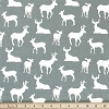 Deer Silhouette Cool Gray