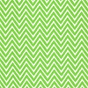 Lime Green Chevron Stripe