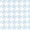 Pale Blue Houndstooth