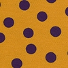 Purple Gold Polka Dot