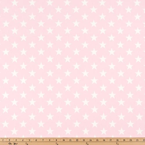 Premier Prints Stars Bella Pink White Home Decorating
