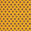 Fabric Finders Gold Purple Mini Paw