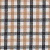 Fabric Finders Black Gold Plaid